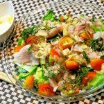 あさイチのサラダうどんレシピ