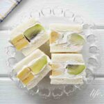 キウイとバナナのフルーツサンドのレシピ。断面もきれいな作り方。