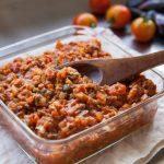 あさイチ蒸し大豆ミートソースとハンバーグのレシピ