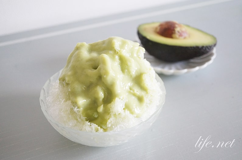 アボカドかき氷シロップの作り方。火を使わずに簡単に作れるレシピ。