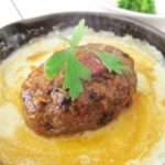 チーズハンバーグのレシピ