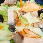 きょうの料理さけとおさつのちゃんちゃん焼き風レシピ
