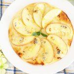 りんごとゴルゴンゾーラのデザートピザのレシピ&作り方