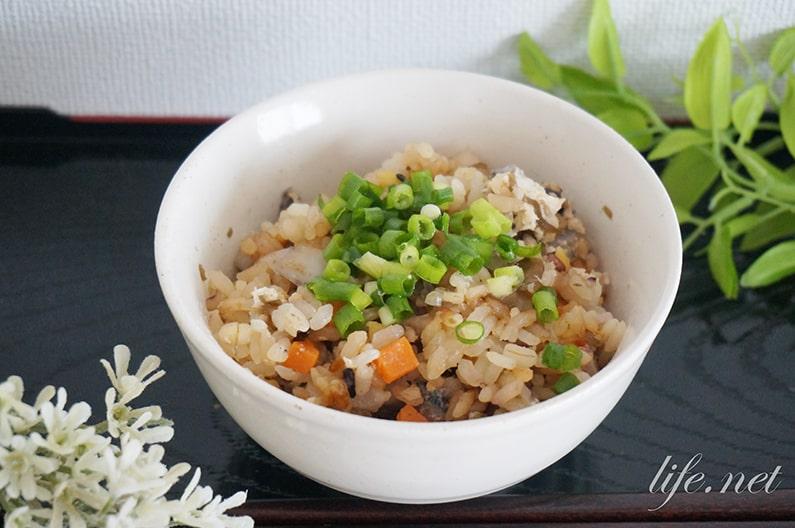 ジョブチューンのれんこん炊き込みご飯のレシピ。免疫力アップに効果的。