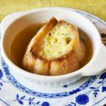 簡単オニオングラタンスープレシピ