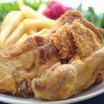 むね肉のフライドチキン&ポテトレシピ