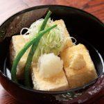 クリーミー揚げ出し豆腐レシピ