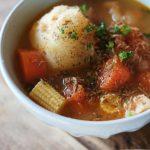 鶏とレンコン団子のスープレシピ