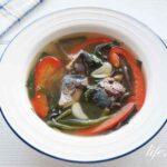 マツコの知らない世界の鯖缶チャイニーズスープのレシピ。生姜がポイント!
