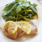 男子ごはんのメカジキのレモンソテーのレシピ。漬け込んで簡単。