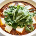 麻婆豆腐鍋のレシピ。世界一受けたい授業で話題のマーボー豆腐鍋。