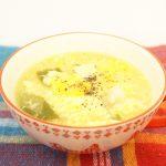 カルボナーラ風スープのレシピ