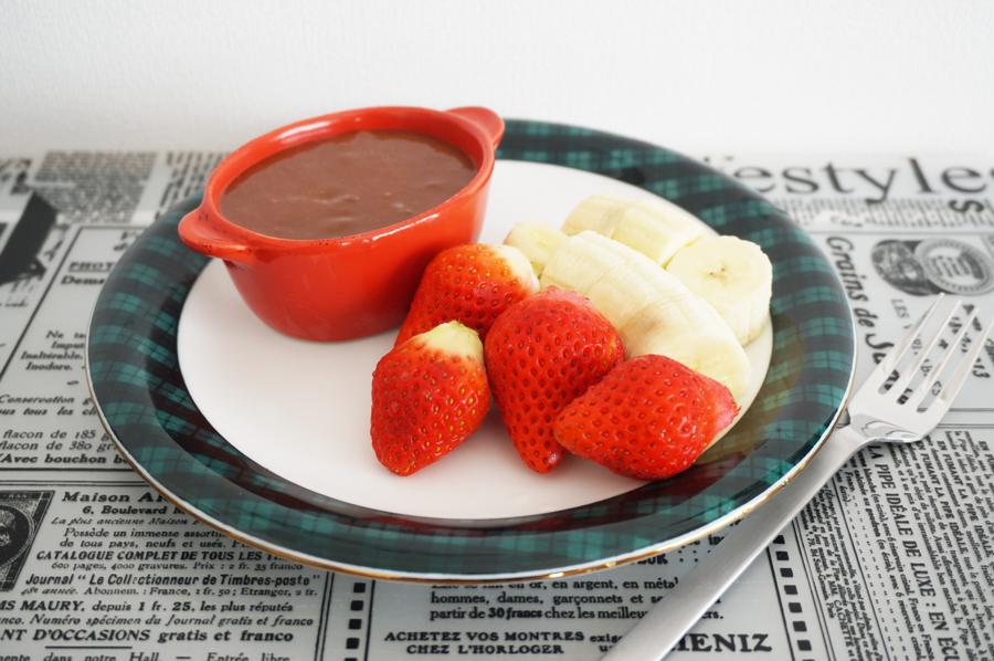 チョコ餅フォンデュのレシピ