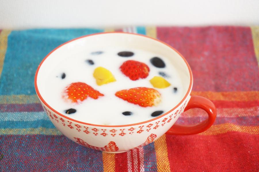 平野レミさんのミルク餅のレシピ