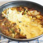 餅チーズタッカルビの作り方。フライパンで簡単にできるレシピ。