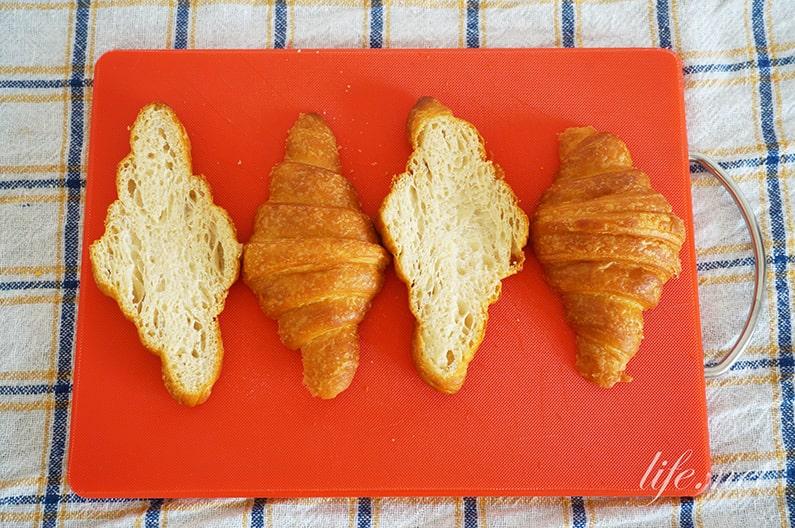 クロワッサンフレンチトーストのレシピ。ソレダメで話題の作り方。