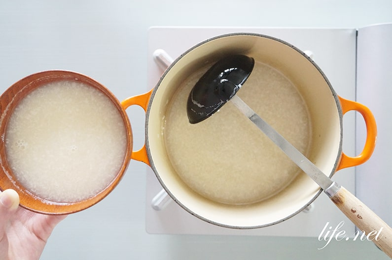 甘酒しるこの作り方。聖☆おにいさんの再現レシピ。