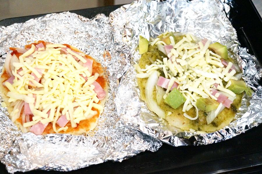 ウル得マンの餅ピザの作り方