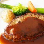 こま切れ肉で作るハンバーグのレシピ