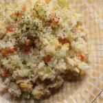 ピラフ風海鮮炊き込みご飯の作り方