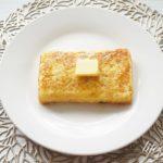 パン粉フレンチトーストのレシピ。テレビで話題の作り方。