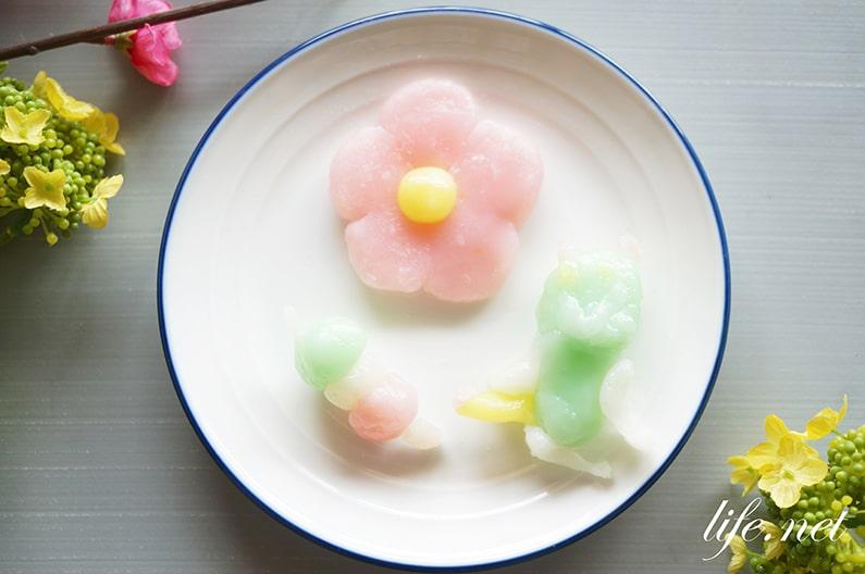 おこしものの作り方と蒸し方。愛知県のひな祭りの郷土菓子。