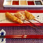 白菜の豚バラまき串揚げのレシピ