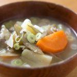 野崎洋光さんの豚汁レシピ