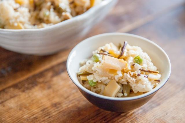ツナの炊き込みご飯のレシピ
