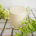バナナヨーグルトスムージーのレシピ。シミやダイエットに効果的。