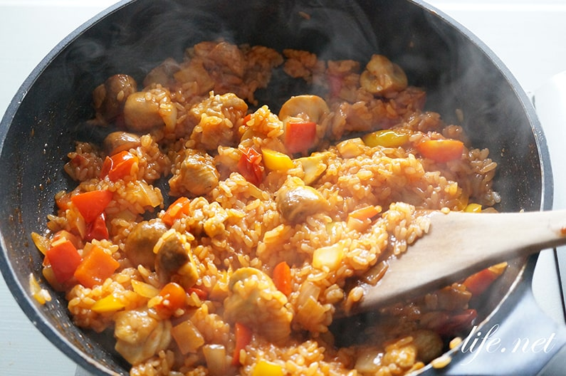 あさイチのふわとろオムライスのレシピ。切るオムライスの作り方。