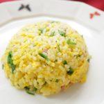 あさイチのレンチンチャーハンのレシピ。カップ麺のスープで!