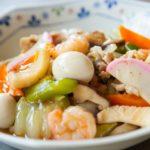 あさりの八宝菜のレシピ