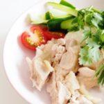鶏胸肉のカオマンガイのレシピ