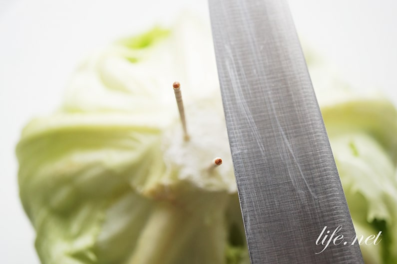 レタスが長持ちする保存方法。小麦粉・爪楊枝がおすすめ!