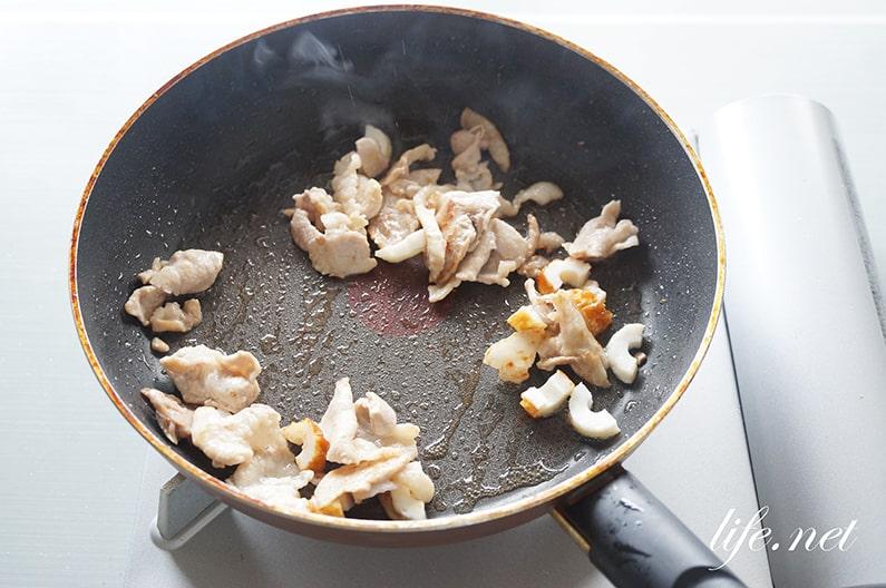 あさイチの焼きそばのレシピ。きじまりゅうたさんのソース焼きそば。