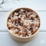 あさイチの電子レンジお赤飯の作り方。簡単にできて美味しいレシピ。