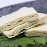 湯葉餃子のレシピ