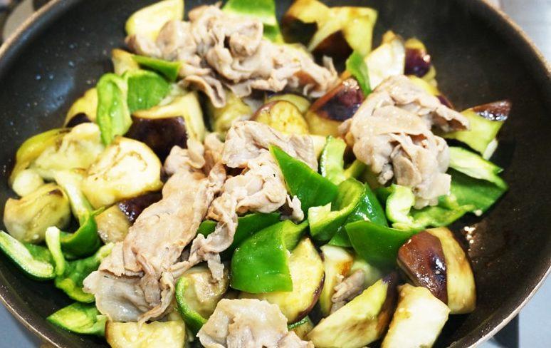 なすと豚肉のしぎ焼きのレシピ&作り方