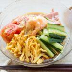 たたききゅうりのピリ辛ゴマだれ麺のレシピ