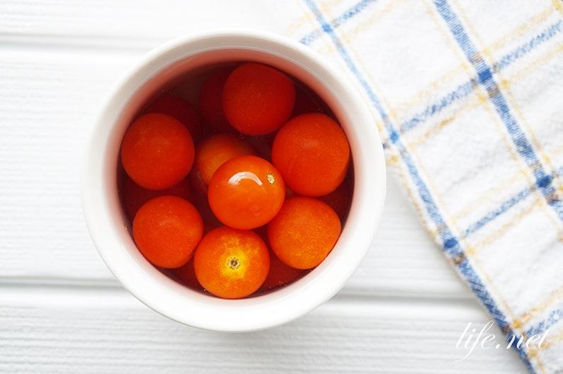 ミニトマトの保存方法。鮮度が長持ちする冷蔵・冷凍・乾燥別に紹介。