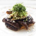 あさイチのなすの黒酢炒めのレシピ。作り置きもできる絶品おかず。