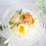 キムチ豆乳そうめんのレシピ&作り方