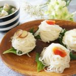 豚肉とオクラの温つゆつけ麺のレシピ