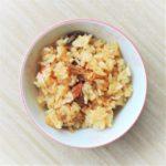 さんまの蒲焼き缶の炊き込みご飯のレシピ