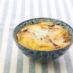 味付きいわしの卵とじ丼のレシピ