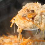 いか味付け缶とチーズの炊き込みご飯のレシピ・作り方