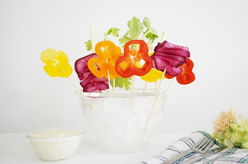 平野レミさんの豆腐ディップサラダのレシピ