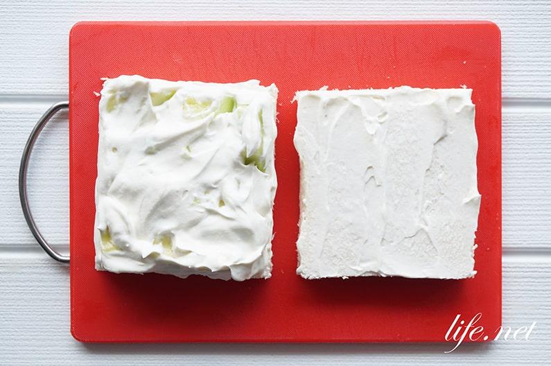 メロンサンドイッチのレシピ。豪華なフルーツサンドが自宅でも!