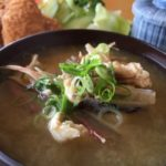アジの味噌汁のレシピ・作り方